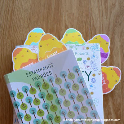 Free Printable Chick Bookmarks
