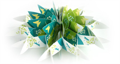 Gagatree Pop Up Card
