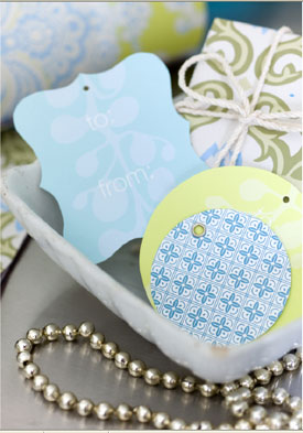 Amy Butler Printable Gift Tags