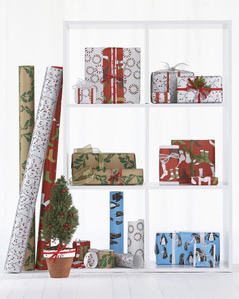 Hable Construction Gift Wrap Garnet Hill