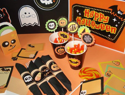 Paperglitter Halloween Printables
