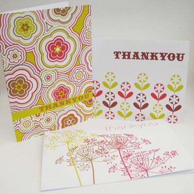 thank you card designs. Inkjet Designs Thank You Cards