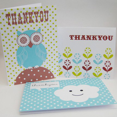Inkjet Designs Thank You Cards