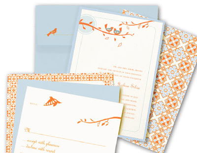 Kenzie Kate Oslo Wedding Invitation