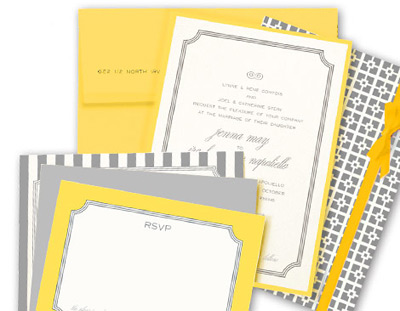 Kenzie Kate Palm Springs Wedding Invitation