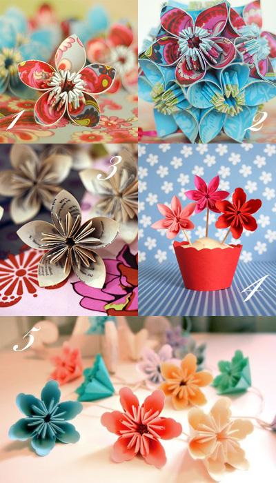 Kusudama Origami Flowers