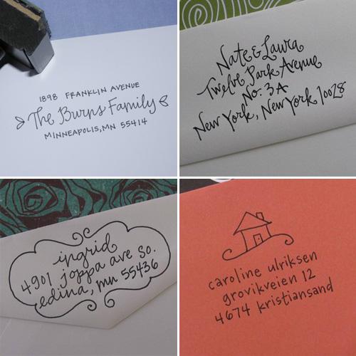Lettergirl Custom Address Stamps