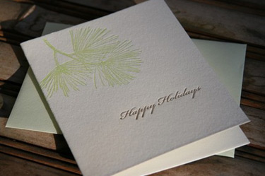 Joie Studio Letterpress Holiday
