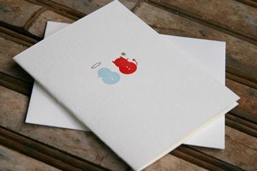 Joie Studio Letterpress Naughty or Nice