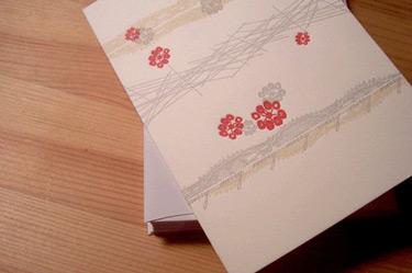 Vertallee Letterpress Merry, Merry Card