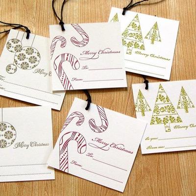 Armato Design Letterpress Gift Tags