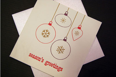 Joie Studio Letterpress Cards