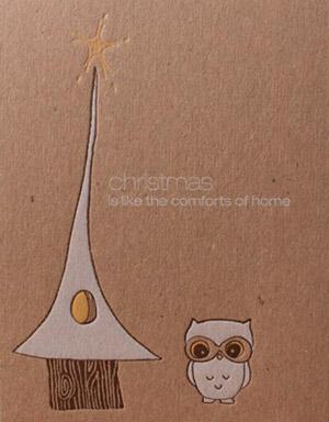 Elum Letterpress Holiday Cards