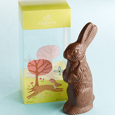 Lisa DeJohn Godiva Easter Packaging
