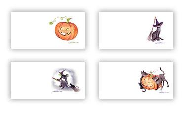 printable halloween gift tags land olakes - Halloween Gift Tag