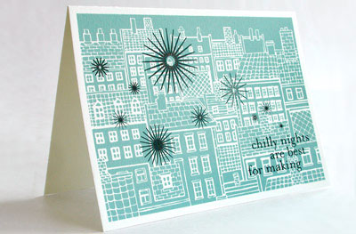 Chilly Nights Cards from lovelydesign.