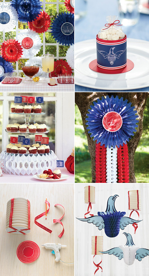 Martha Stewart 4th of July Clip Art Paper Crafts