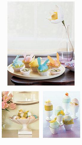 Martha Stewart Crepe Paper Easter Crafts