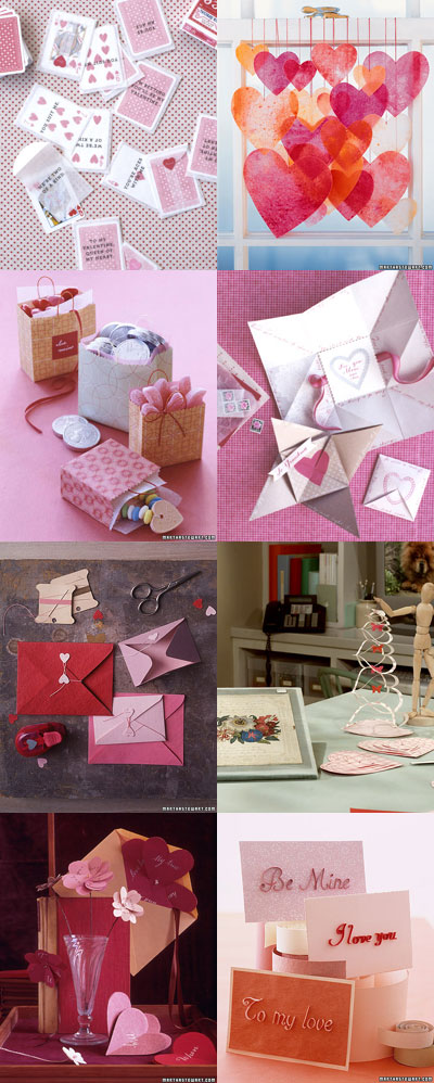 Martha Stewart Valentine's Day Paper Crafts
