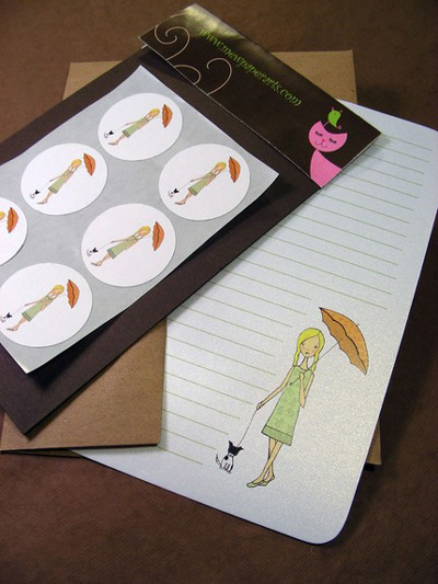 Mew Paper Arts Writing Set