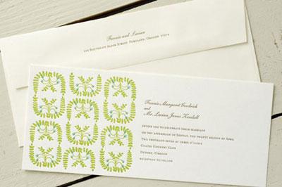 Egg Press Wedding Invitation Sale
