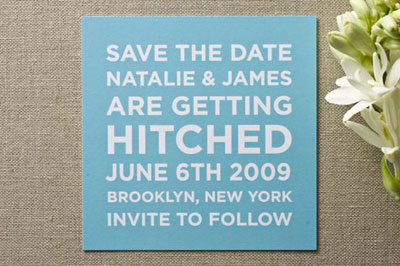 Minted Save the Date Cards
