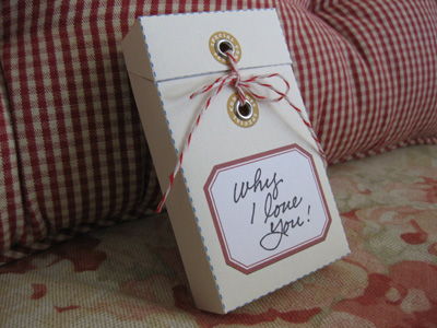 Mother's Day Message Box