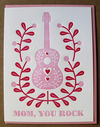 Dutch Door Letterpress Mother's Day Cards