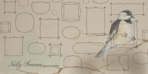 Nelly Frames Font Tart Workshop