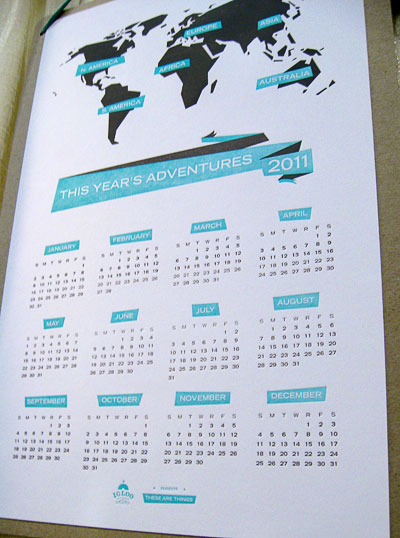 Igloo Press 2011 Calendar