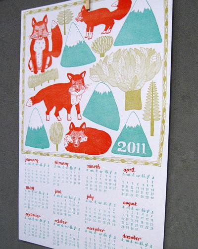 Sycamore Street Press 2011 Calendar