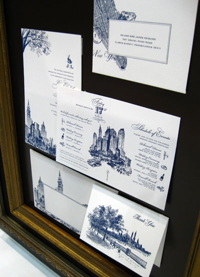 Atelier Isabey Letterpress Wedding Invitations