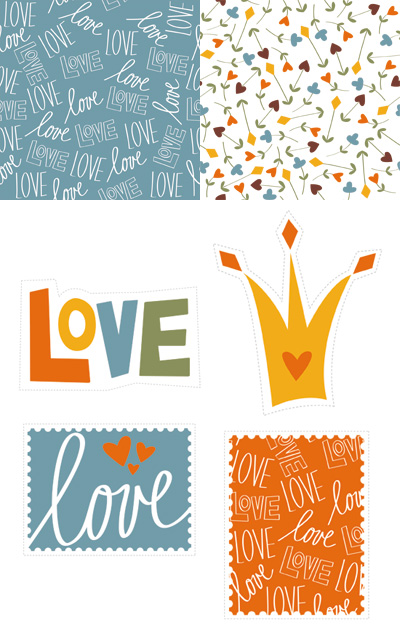 Paper Crave Love Stamp Freebies