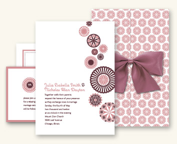 Paper Nut Letterpress Wedding