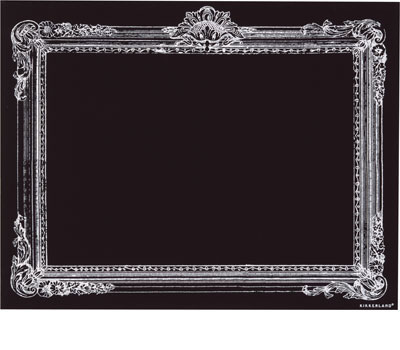 Paper Source Chalkboard Picture Frame