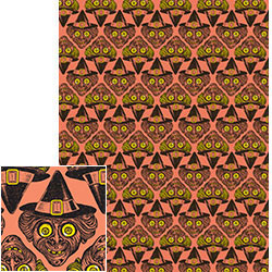 Paper Source Witch Gift Wrap