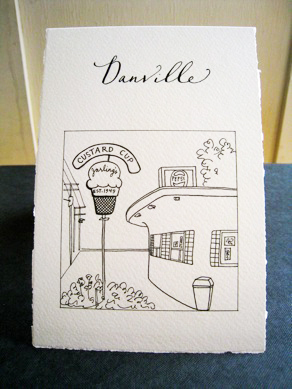 Paperfinger Illustrated Table Signs