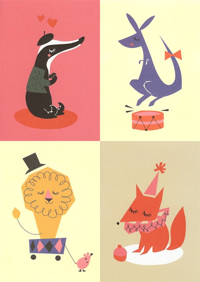 Darling Clementine Greeting Cards