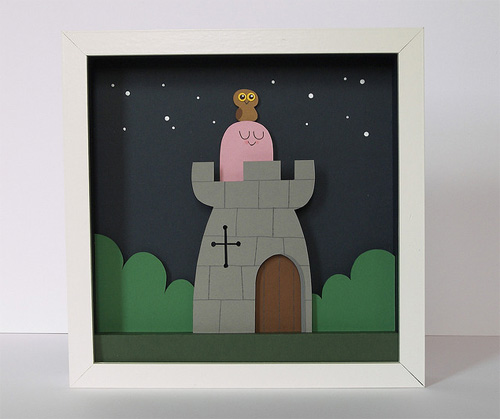 Peter Slight Shadow Box Papercuts