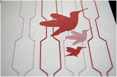 Pistachio Press INK+WIT Letterpress Calendar