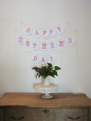 Printable Mother's Day Banner