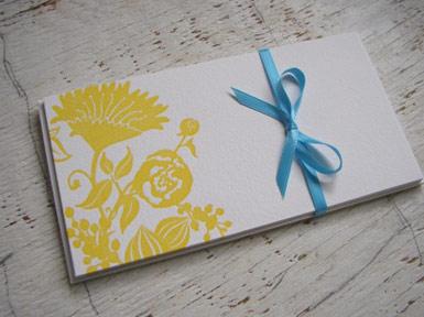 Pressure Letterpress Cards