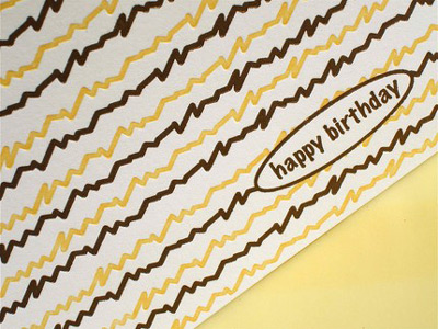 Print Candy Letterpress Cards