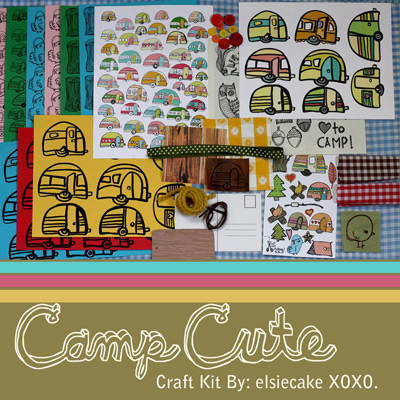 Red Velvet Art Camp Cute Craft Kit