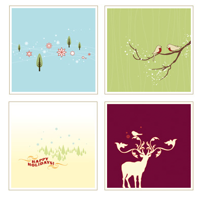 Redbean Holiday Cards
