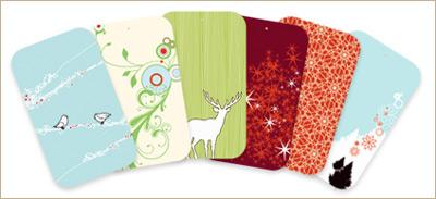 Redbean Holiday Gift Tags