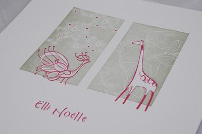 Robin Beth Letterpress Prints