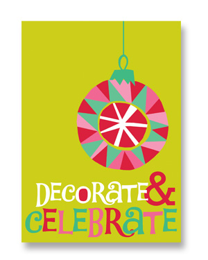 Rock Scissor Paper Holiday Cards