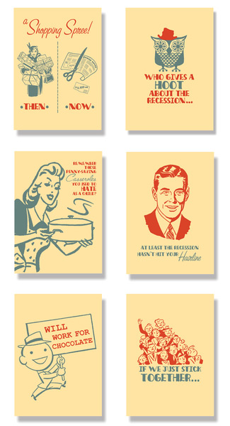 Recession Humor Cards
