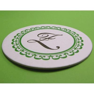 Sara Ridgley Letterpress Coasters